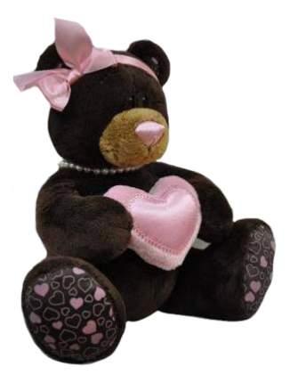 Мягкая игрушка Orange Toys Медведь девочка Milk с сердцем 70 см