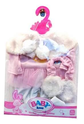 Зимняя одежда для куклы Junfa Toys версия: костюмчик и меховые наушники