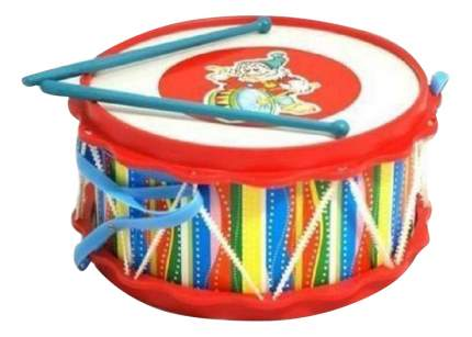 Барабан игрушечный ТулИгрушка Барабан Друг с аппликацией