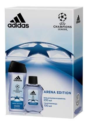 Подарочный набор ADIDAS UEFA III Arena Edition 100 мл+гель