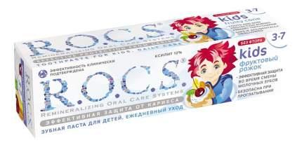 Детская зубная паста R.O.C.S. Фруктовый рожок 45 г