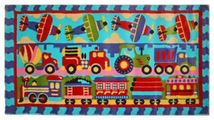 Ковер детский Kamalak tekstil голубой 100х150 УКД-2055