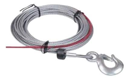 Трос для лебедки COMEUP С ограничителем для лебедки; С крюком 4мм 880257