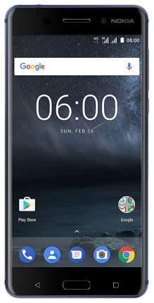 Смартфон Nokia 6 DS TA-1021 32Gb Tempered Blue