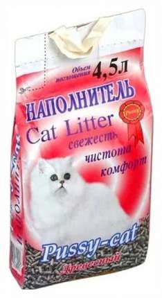 Наполнитель Pussy-Cat древесный 4.5 л 3 кг хвоя
