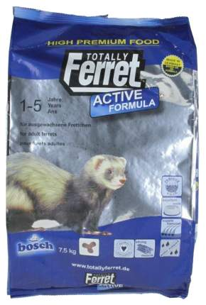 Корм для хорьков Totally Ferret Active 7.5 кг 1 шт