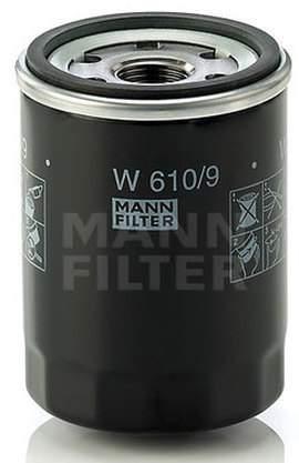 Фильтр масляный двигателя MANN-FILTER W610/9