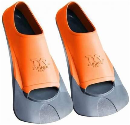 Ласты для плавания TYR Burner Ebr Fins короткие оранжевые XS