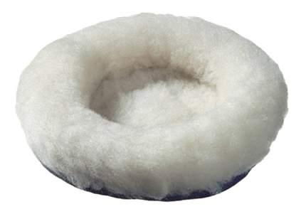 Лежанка для хомяков и мышей Beeztees искусственный мех, текстиль 14x14см белый, черный