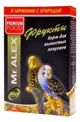 Основной корм Mr.Alex для попугаев 500 г, 1 шт
