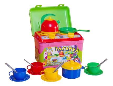 Набор посуды игрушечный ТехноК Галинка №6