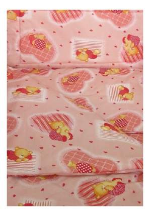 Наволочка на подушку Фея Мишки розовый