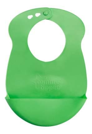 Нагрудник детский tommee tippee Roll n Go зеленый