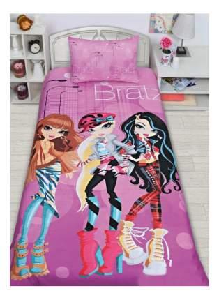 Комплект постельного белья MONA LIZA bratz полутораспальный