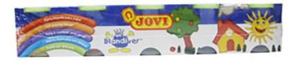 Пальчиковые краски Jovi 5 цветов