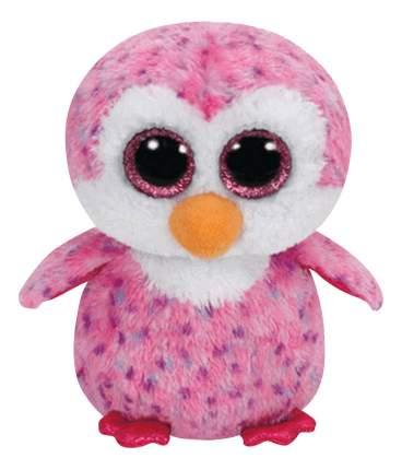 Мягкая игрушка TY Beanie Boos Пингвин Glider розовый 15 см
