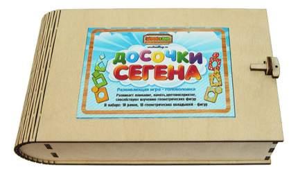 Деревянная игрушка для малышей Сибирский сувенир Досочки Сегена