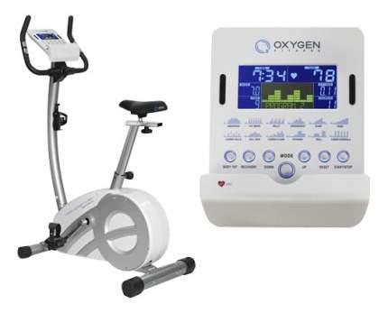 Велотренажер Oxygen Fitness Cardio Concept IV HRC+ White