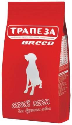 Сухой корм для собак Трапеза Breed, средних и крупных пород, мясо, 18кг