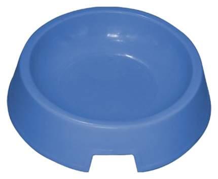 Одинарная миска для кошек Зооник, пластик, серый, 0.2 л