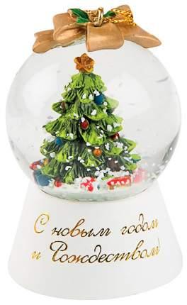Снежный шар Kuchenland Christmas lantern Зеленая елка 4,5 см