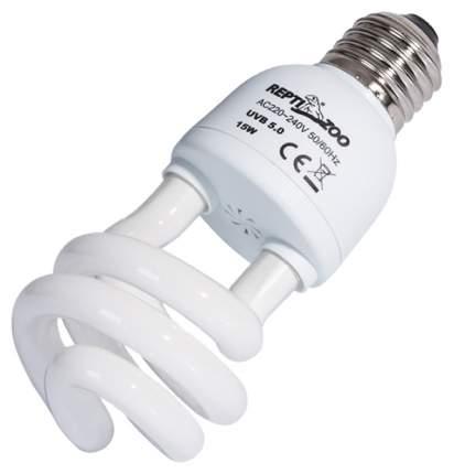 Ультрафиолетовая лампа для террариума Repti-Zoo Compact Tropical 5.0, 15 Вт