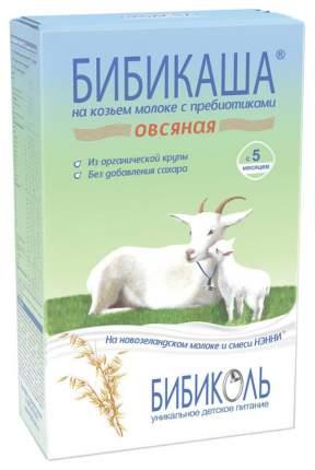 Молочная каша БИБИКОЛЬ БИБИКАША Овсяная на козьем молоке с 5 мес 200 г