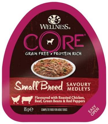 Консервы для собак Wellness CORE, говядина и курица, 85г