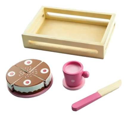 Набор продуктов игрушечный Mapacha Тортик