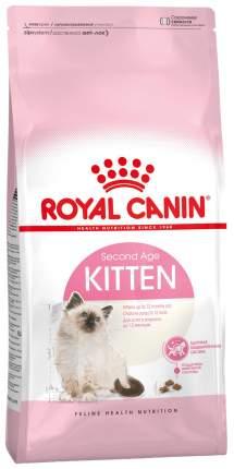 Сухой корм для котят ROYAL CANIN Kitten, в возрасте до 12 месяцев, домашняя птица, 4кг