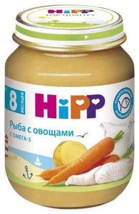 Пюре Hipp Рыба с овощами с 8 мес. 125 г
