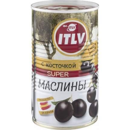 Маслины ITLV super с косточкой 350 г