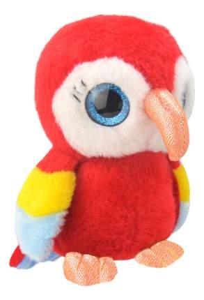 Мягкая игрушка Wild Planet Попугай 19 см красный k8167