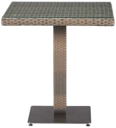 Стол Afina T601G-W1289-70х70 Pale