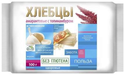 Хлебцы рисово-кукурузные Di&Di амарантовые с топинамбуром и чесноком без глютена 100 г