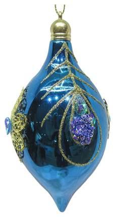 Елочная игрушка Новогодняя сказка 972923 Голубой