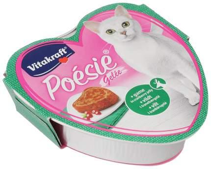 Консервы для кошек Vitakraft Poesie дичь с клюквой 85 г