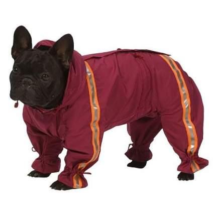 Комбинезон для собак ТУЗИК размер S мужской, красный, длина спины 26 см