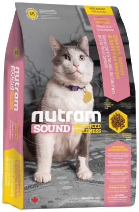 Сухой корм для кошек Nutram Sound Balanced Wellness Adult\Senior, птица, лосось, 0,4кг