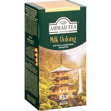 Чай зеленый Ahmad Tea milk oolong 25 пакетиков