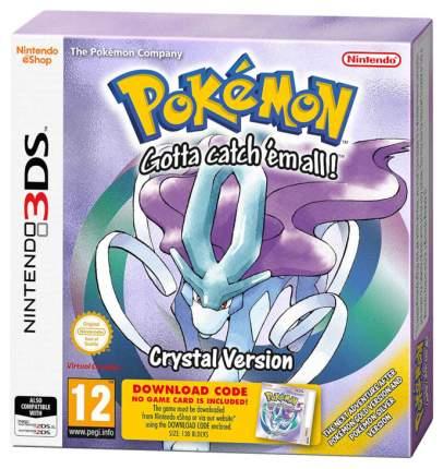 Игра Pokemon Crystal для Nintendo 3DS