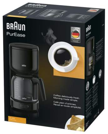 Кофеварка капельного типа Braun KF 3120 Black