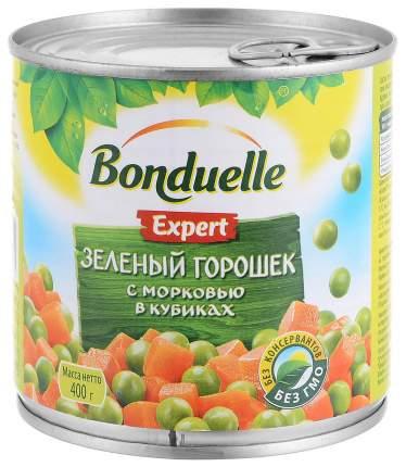 Зеленый горошек с морковью Bonduelle в кубиках 400 г