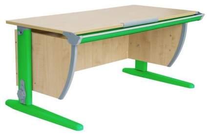 Парта Дэми СУТ 15-01Д2 с двумя двухъярусными задними приставками Клен Зеленый 120 см