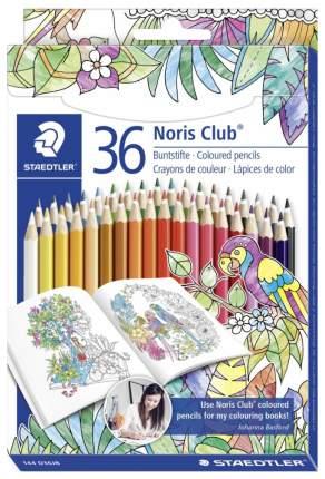 Карандаши цветные Staedtler Noris Club Johanna Basford 36 цветов