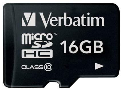 Карта памяти Verbatim Micro SDHC 44010 16 GB