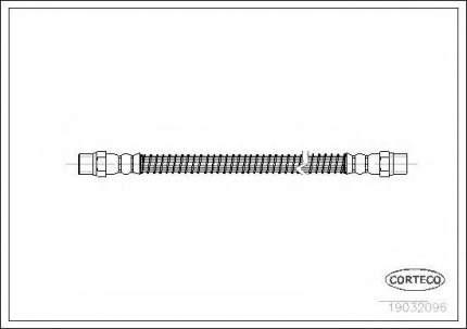 Шланг тормозной Corteco 19032096