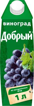 Нектар Добрый виноград 1 л