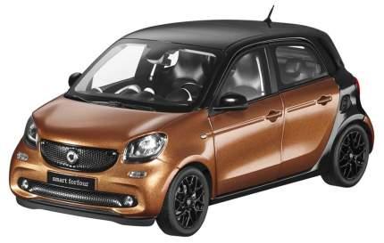 Модель Smart Forfour Prime B66960299 Scale 1:18 Black-Brown
