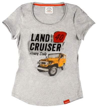 Женская футболка Toyota Land Cruiser 40 TMHRTTCL04XS Grey